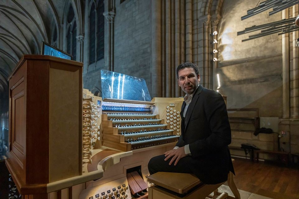 Arturo Barba Concert Notre Dame Paris organ orgue recital