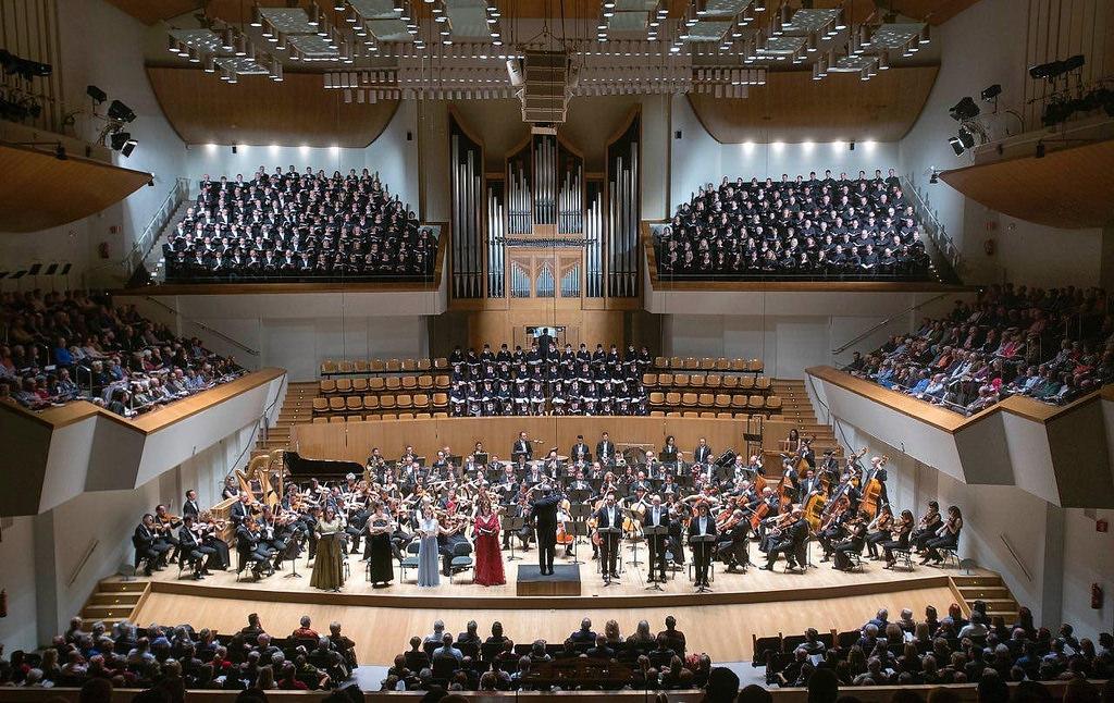 Mahler Gustav Symphony Thousand Arturo Barba organ orgel Palau musica Valencia orquesta