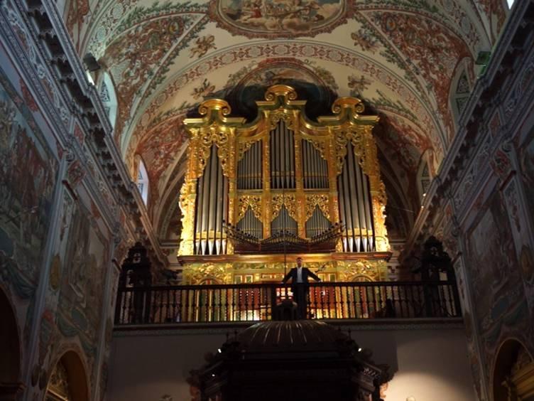 Venerables Sevilla Arturo Barba organo organ orgue concert recital Ayarra