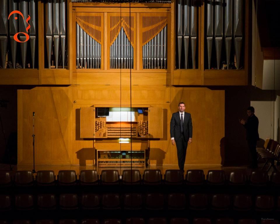 Palau Musica Valencia organ orgel concert recital Arturo Barba