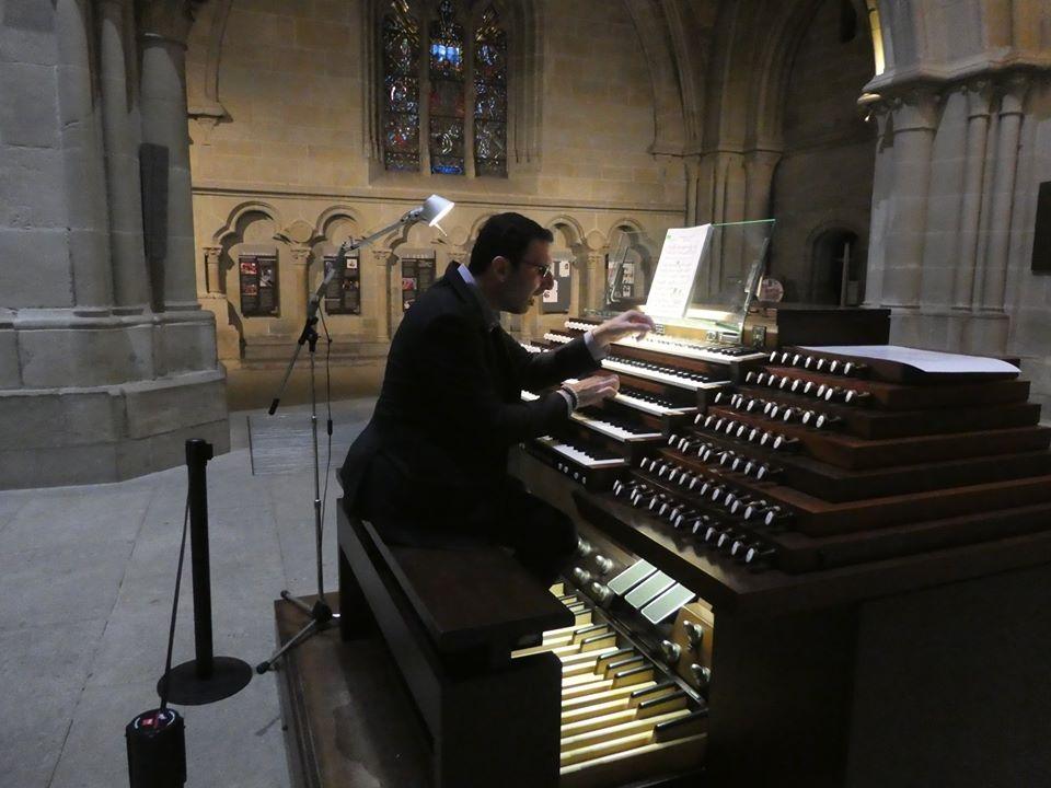 Lausanne Cathedral Dom Arturo Barba organ concert recital