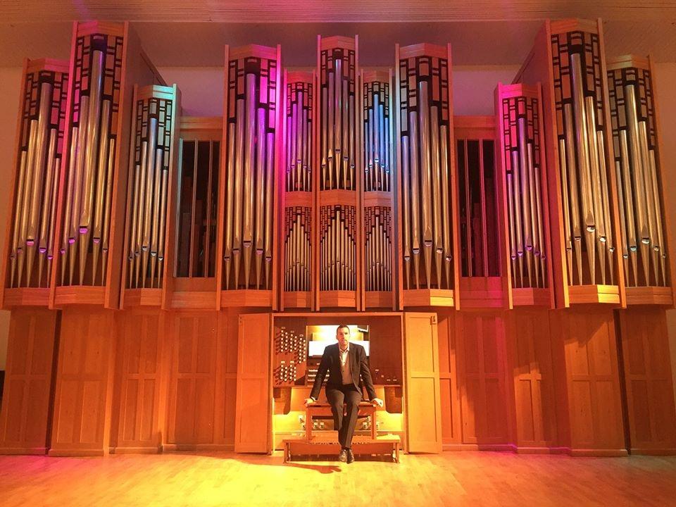 Kislovodsk Auditorium Arturo Barba organ orgel Berezhnaya